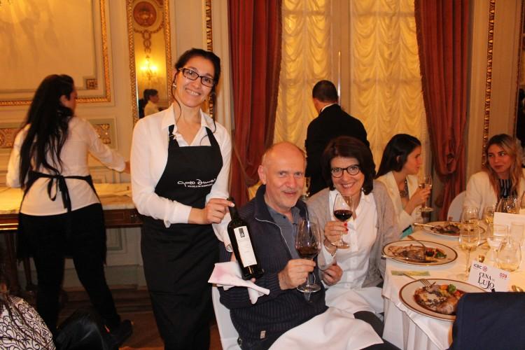 Cena en el Alvear Palace Hotel, à l'occasion du Salon de Vins de Luxe Argentins